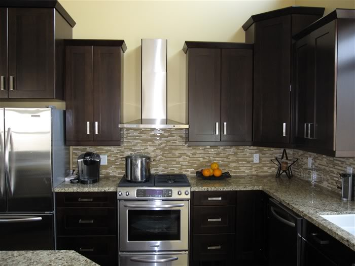 001 Shaker Espresso Kitchen Cabinets Bridgeport Ct1 Mikes Factory Direct